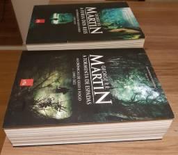 Livros 1,2 e 3  GAME OF THRONES