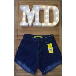 Shorts jeans disponíveis