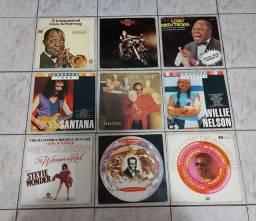 VINIL- LOTE C/9 LP'S/ STEVIE WONDER/SANTANA/WILLIE  NELSON  +