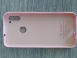 Capinha Rosa Samsung A11 novo