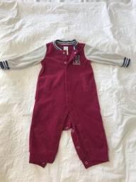 Tipo top - carters - fleece (quente) - 9 meses