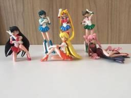 6 Bonecas Sailor Moon Originais Bandai (itens Raros)
