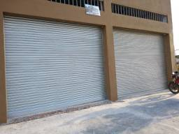 Porta De Aço De Enrolar Automática 4 L X 4 A (kit completo)