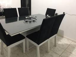Vendo mesa retangular 6 lugares