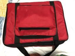 Mesa Soundcraft 12 canais com bag