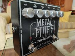 Pedal Mtal Muff with Top Boost Distortion - Electro Harmonix