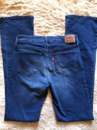Vende-se calça feminina Levis 40/42