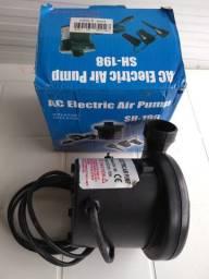 Bomba de ar 12V para carro inflar encher colchão