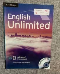 Livro - English Unlimited C1 + CD