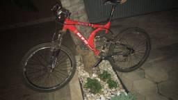 Bicicleta, quadro GTS, kit alívio, aro 26.