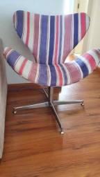 Poltrona cadeira listrada