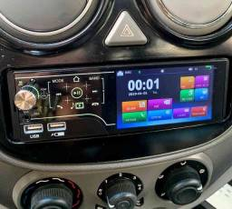 Rádio Automotivo MP5 Bluetooth Touch Screen e Comandos de Volante