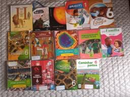 Vendo livros sexto ano colégio Sagrada Família Blumenau