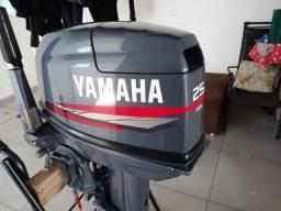 Motor de popa 25hp yamaha 2011 conservado por 15hp.