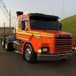 Scania 142H / parcela