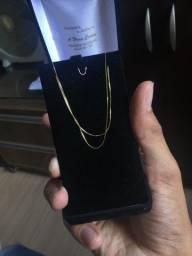 vendo 1 cordão de ouro 18k