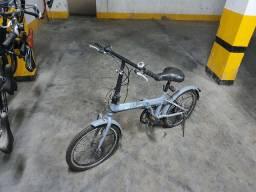 Bicicleta Dobrável - Com marcha