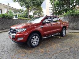 Ford Ranger Limited 3.2 Turbo Diesel 2017 Único Dono