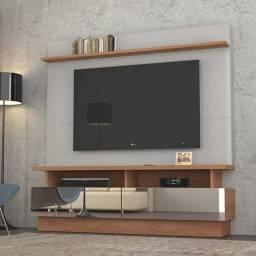 """Home Theater R711 2,00 M, p/ TV 70"""" 2 gavetas c/ espelho. Super oferta!!"""