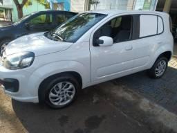 Fiat uno furgão 2019 1.0