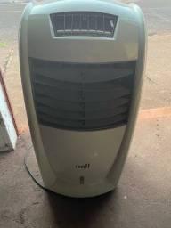 Climatizador umidificador suporte água