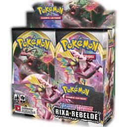 Booster Pokémon Espada e Escudo Rixa Rebelde