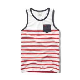 Camisetas regatas Infantis Abercrombie Kids Originais Importadas