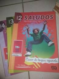 Livros de espanhol novos!