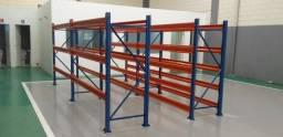 Título do anúncio: Estrutura de ferro porta Pallet Pallets