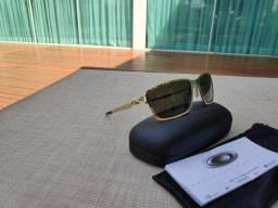 Oakley Tincan Oo4082-01 Polished Gold Dark Grey