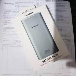 Carregador Portatil Samsung - Lacrado, com Nota Fiscal e Garantia