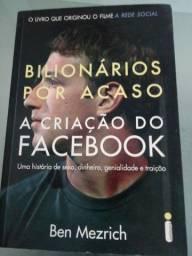 Livro bilionários por acaso A criação do Facebook