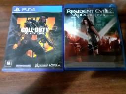 Vendo ou troco pelo jogo Resident Evil 7 Gold  Edition para Playstation 4