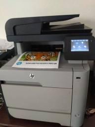 Multifuncional e impressora Hp a laser colorida