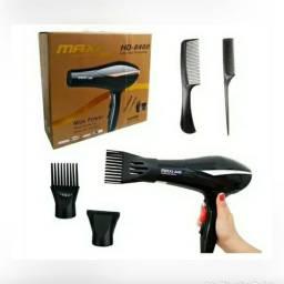 Secador Max  Power 5000W Profissional Para Cabeleiro e Barbeiro