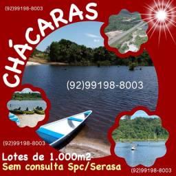 San Raphael-Chácaras com área de lazer e lotes de 1.000m²