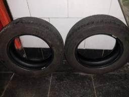 Venda pneus aro 14, 175/65 e amortecedor(Cofap original do carro), de Fiat mobi