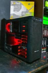 COMPUTADOR GAMER - I5 8400 - Z370 - GTX 1060 - 8GB RAM - HD 1TB - FONTE 500W<br>