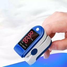 Oximetro De Dedo Medidor de Pulso e Saturação De Oxigênio na Corrente sanguinea-Homologado