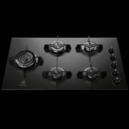Cooktop Brastemp 5 bocas com quadrichama e timer touch