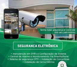 Instalador Profissional de Câmera e Alarme de Segurança Eletrotécnica