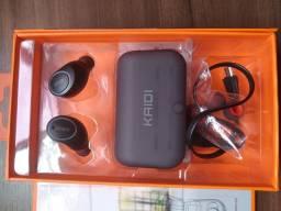 Fone de ouvido bluetooth True Wireless Earbuds Kaioi