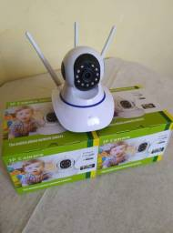Câmera Robô Wifi Sem Fio HD Entrada Sd