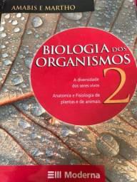 Livro Amabis Biologia dos organismos