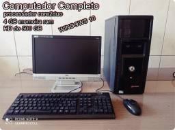 Computador completo ( com wifi e  4 GB  de  memoira