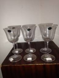 Taças crystal bohemia