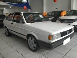 \Volkswagen Gol cl 1.8 álcool 1994 branco bem conservado