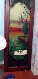 Porta decorada para sala