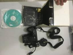 Câmera 16 megapixels Nikon L320 funcionando em bom estado