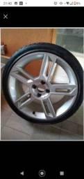 Título do anúncio: Roda avulsa  17 Fiat Speedline + Pneu